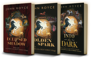 The Legend of the Great Horse trilogy books (2015)