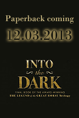 Paperback edition of Into the Dark coming June 21, 2013