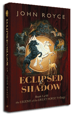 Book I: ECLIPSED BY SHADOW bookcover
