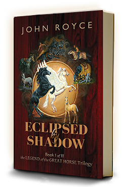 ECLIPSED BY SHADOW bookcover