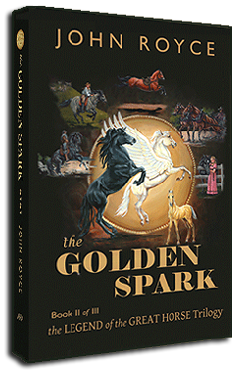 Book II: THE GOLDEN SPARK bookcover