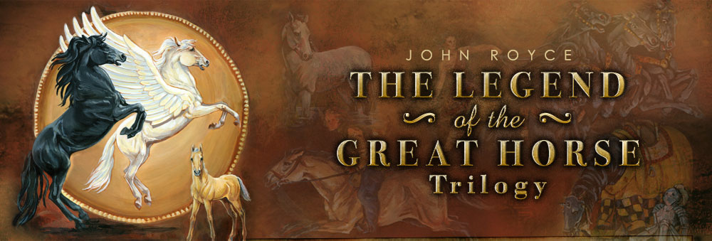 The Legend of the Great Horse trilogy header image 1