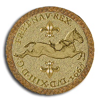 Capriole gold coin